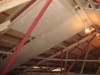 March 8: New ceiling in main hall