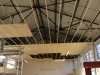 Nov 28: ceiling being removed each panelled hoovered first
