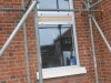 April 4: New window fitted